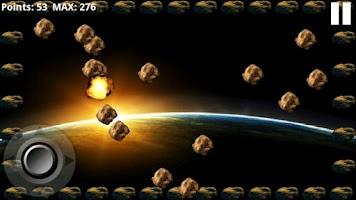 Screenshot of Asteroid Inferno