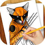 Learn To Draw Super Cats