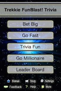 Trekkie FunBlast Trivia Quiz - screenshot thumbnail