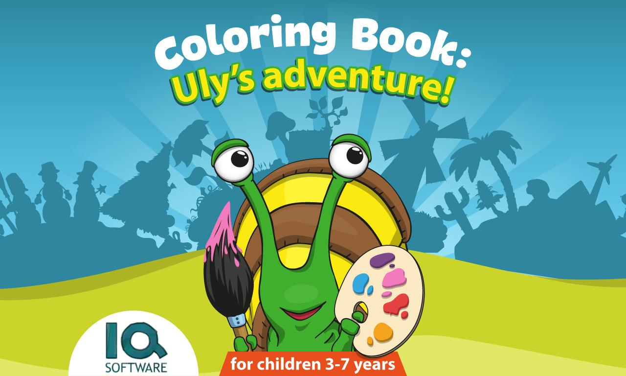 Coloring book software - Coloring Book Uly S Adventure Screenshot