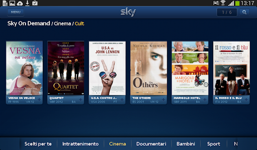 Sky Guida TV HD - screenshot thumbnail