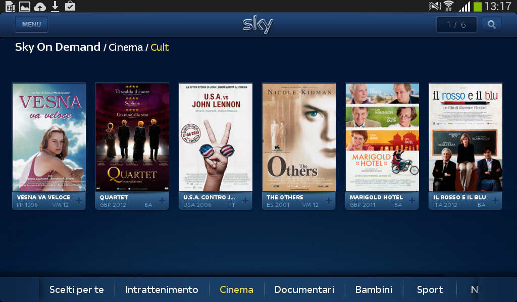 Sky Guida TV HD- screenshot