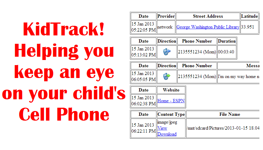 KidTrack™ Installer - screenshot
