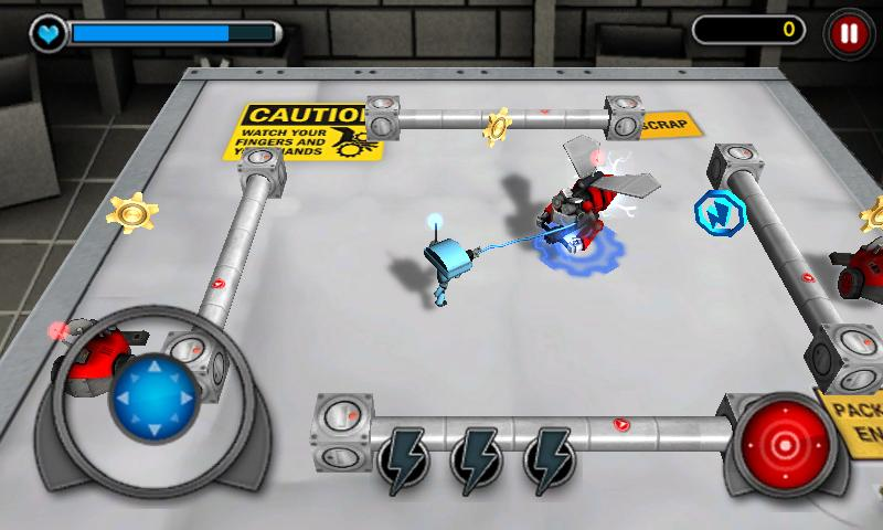 Good Robot Bad Robot 3D - screenshot