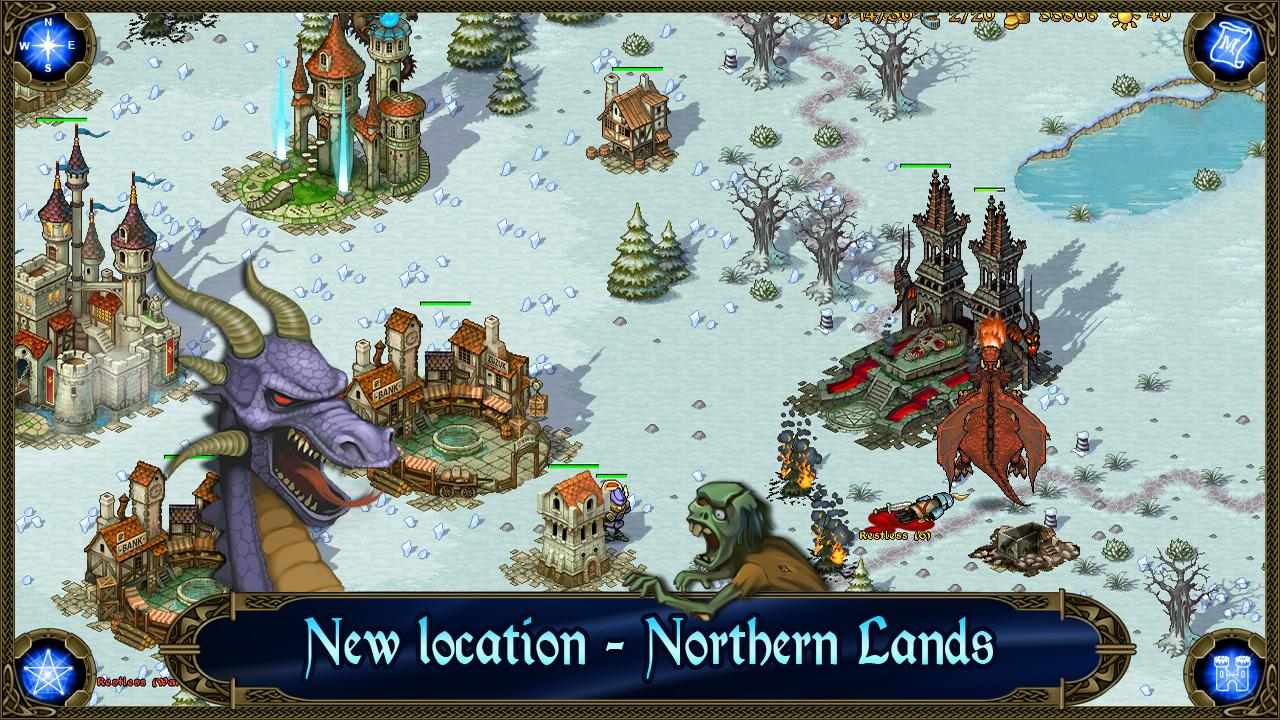 Majesty: Northern Expansion - screenshot