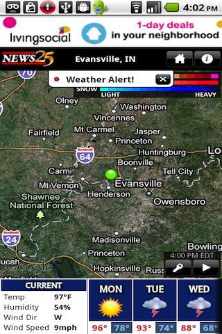 NEWS 25 WX- screenshot