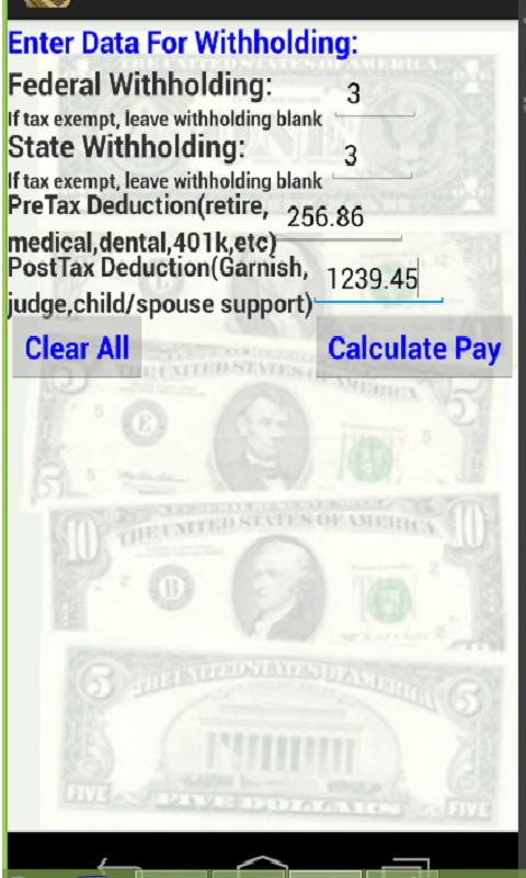 w2 deductions calculator