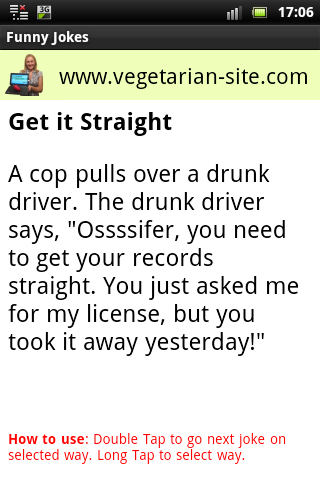 Funny Jokes - Android app on AppBrain