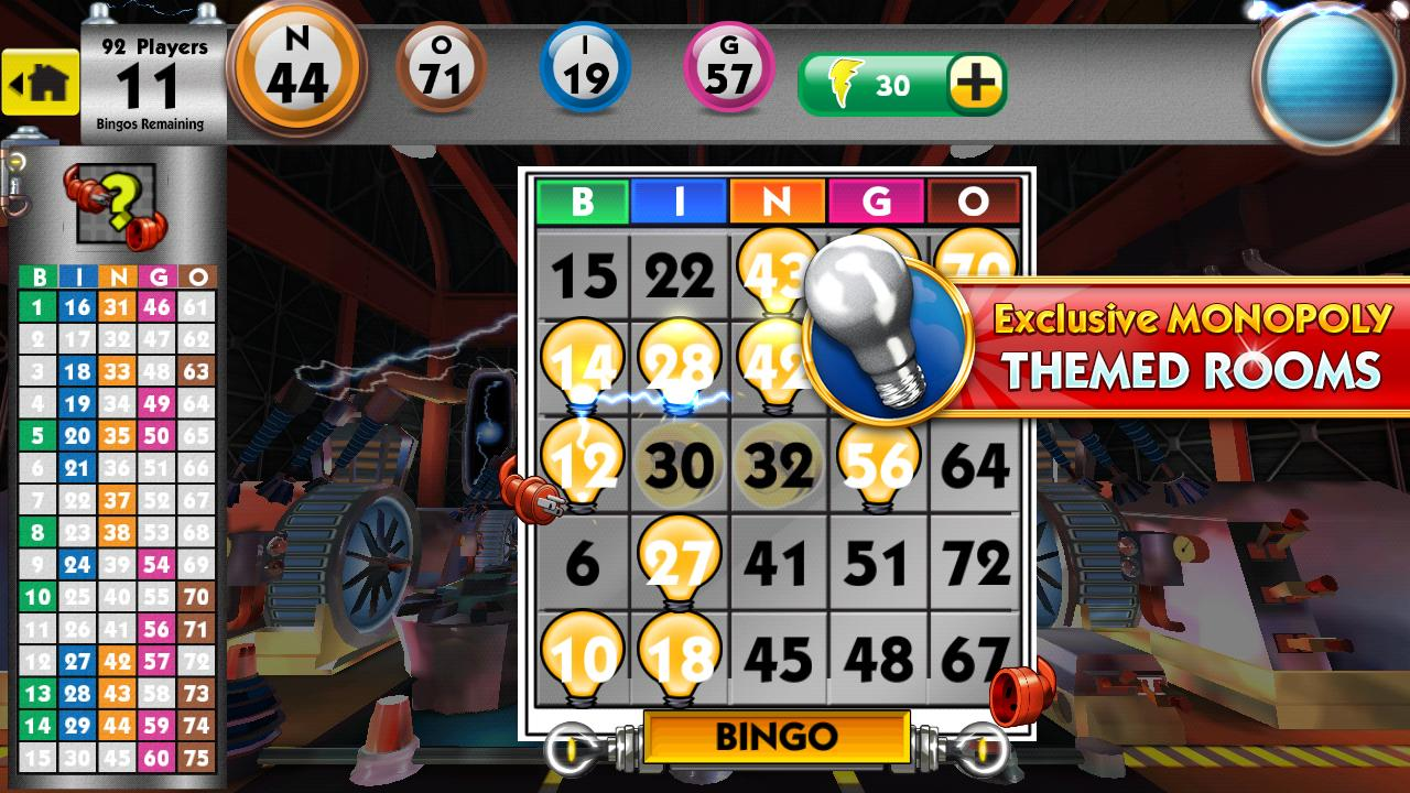 MONOPOLY Bingo - screenshot