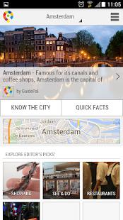 Amsterdam City Guide - screenshot thumbnail