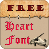 Heart Font Style Free
