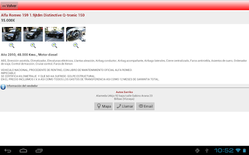 e-renova.net Coches de ocasion - screenshot thumbnail