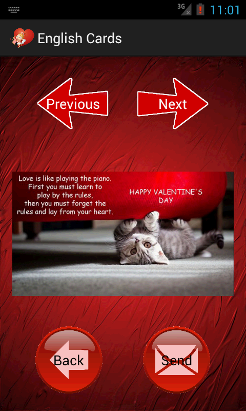 Valentines Day Cards SMS Android Apps on Google Play – Valentines Day Text Cards
