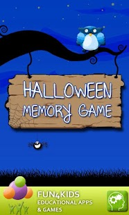 Halloween Memory Game - screenshot thumbnail
