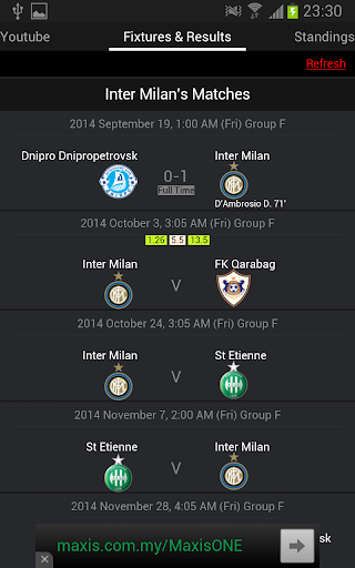 【免費運動App】Europa League Live 2014 2015-APP點子