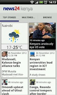 News24 Kenya- screenshot thumbnail
