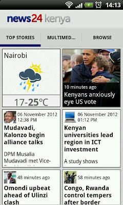 News24 Kenya - screenshot