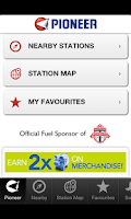 Screenshot of Pioneer Energy Mobile App