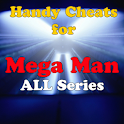 Mega Man all series Cheats logo