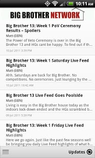 Big Brother Network - screenshot thumbnail