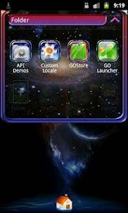 Go Launcher EX Theme Bright - screenshot thumbnail