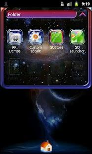 Go Launcher EX Theme Bright - screenshot thumbnail