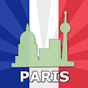 Paris Travel Guide Offline icon