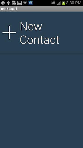 SOS Call Test