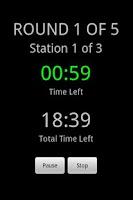 Screenshot of Boxing Circuit Timer