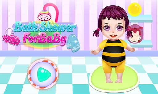 寶寶洗澡的女孩遊戲