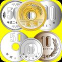 硬貨の計算 logo