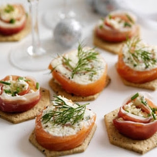 Easy Mixed Canapés
