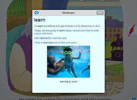 Screenshot of Scholastic Storia