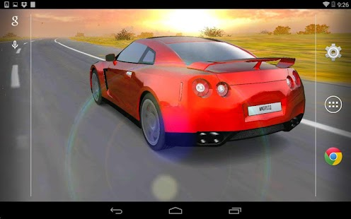 3D Car Live Wallpaper - screenshot thumbnail