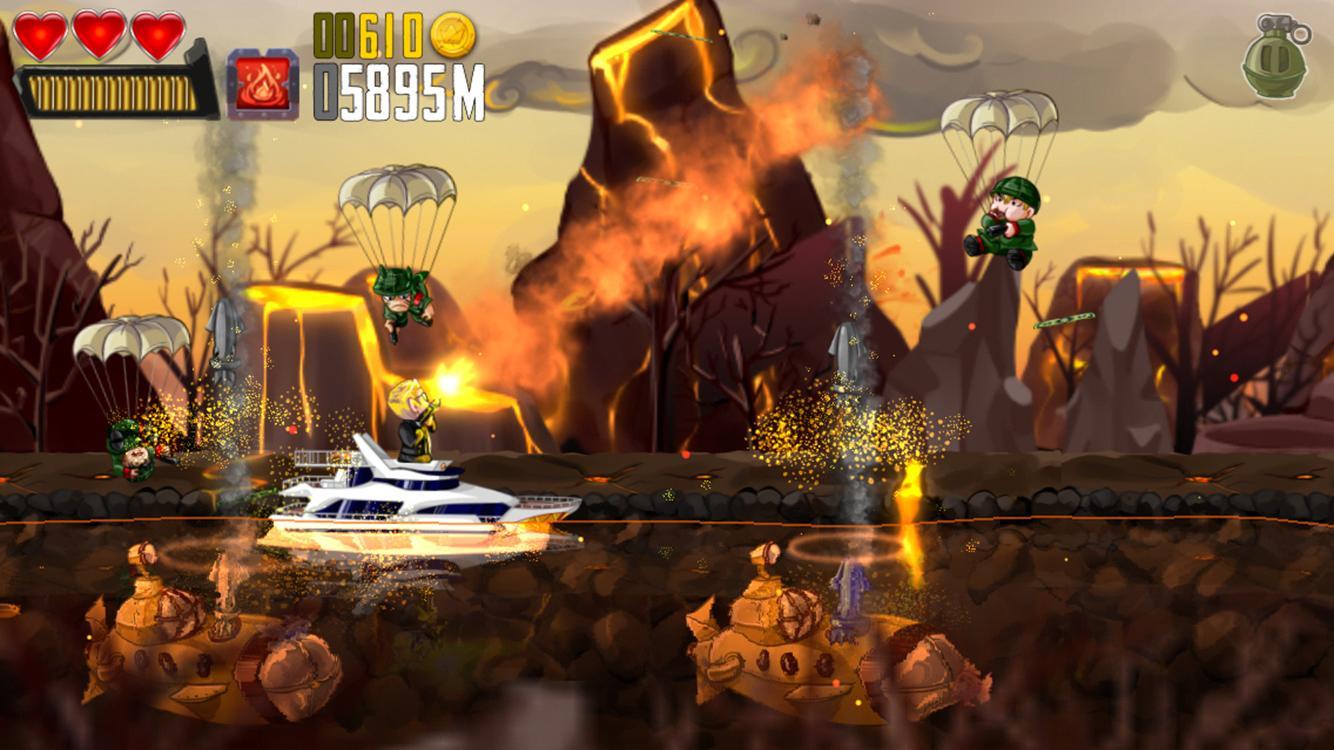Ramboat : Shooter Heroes - screenshot