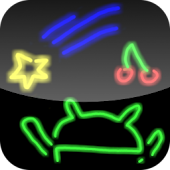 Drawing neon APK for Blackberry