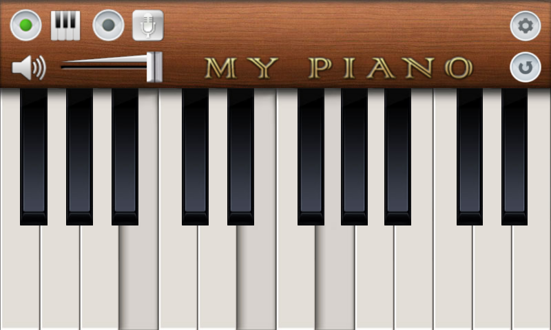 My Piano - screenshot