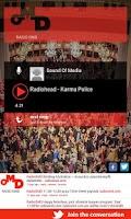 Screenshot of Radio OMD