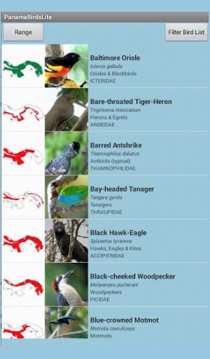 Panama Birds Lite Field Guide