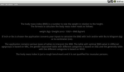 玩健康App BMI Calculator免費 APP試玩