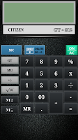 Screenshot of CITIZEN CALCULATOR