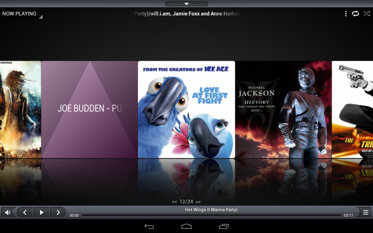 iSense Music - 3D Music Player - screenshot