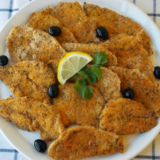 Baked Breaded Chicken Steaks