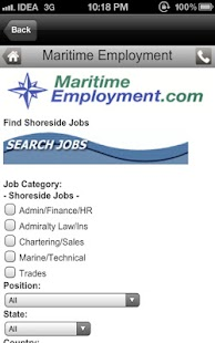 Maritime Job Search- screenshot thumbnail