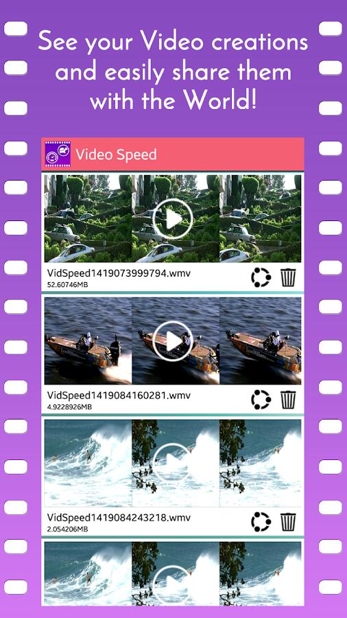 Video Speed Slow Motion & Fast- screenshot