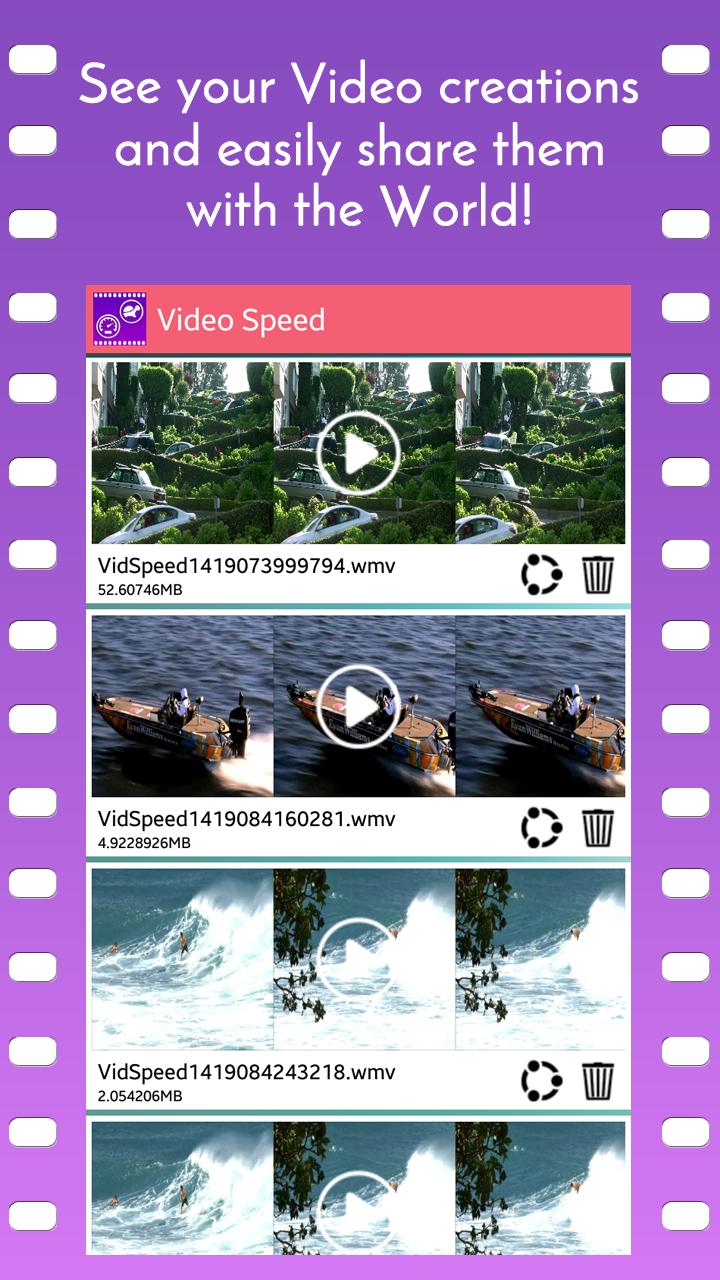 Video Speed Slow Motion & Fast Screenshot 3