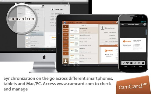 CamCard HD Free-BizCard Reader - screenshot thumbnail