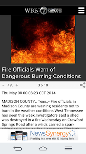 WBBJ 7 Eyewitness News- screenshot thumbnail