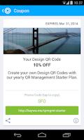 Screenshot of QR Code Reader from Kaywa