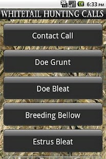Whitetail Hunting Calls - screenshot thumbnail